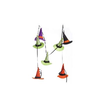 Cosy @ Home Slinger Kleurrijke Heksenhoedjes 150cm