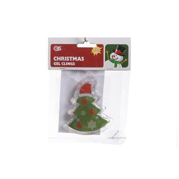 Goodmark Vensterdeco Gel Clings Kerst 3 Types Led