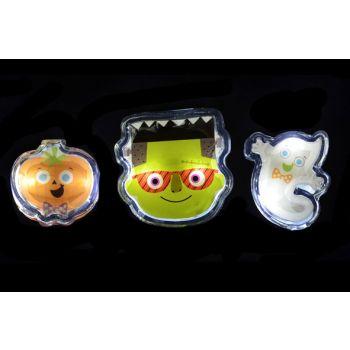 Goodmark Halloween Gel Gadget Met Led 3 Types Faces
