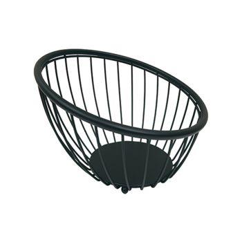 Artex Black Globe Fruitschaal Zwart D28cm
