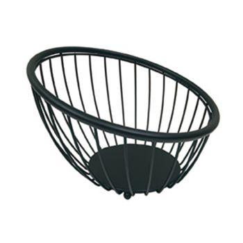 Artex Black Globe Fruitschaal Zwart D25cm