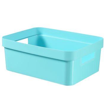 Curver Infinity Box 11l Blauw 36x27xh14cm