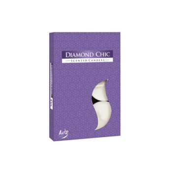 Cosy & Trendy Ct Set 6 Theelichten Diamond Chic 4h