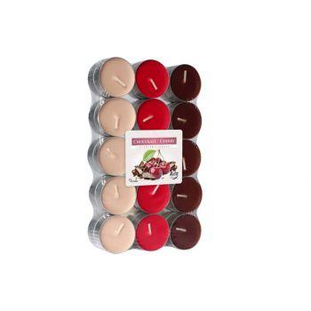 Cosy & Trendy Ct S30 Theelichten Chocolade-kers4u