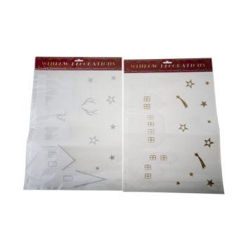Goodmark Venster Sticker Glitter 2 Types 40x30cm