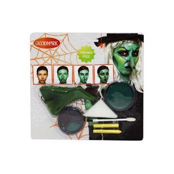 Goodmark Halloween Make Up - Set Voor Heks
