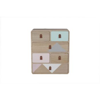 Cosy @ Home Ladenkast Retro Hout 34x16x45cm