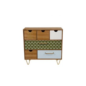 Cosy @ Home Jungle Ladenkast Hout 32.5x14x31.5cm