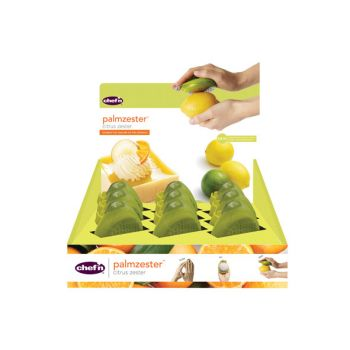 Chef'n Palm Zester Citrus  Display 9pieces