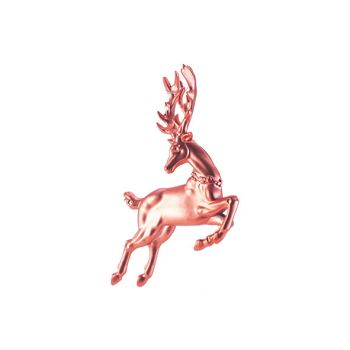 Cosy @ Home Hanger Deer Rood 12x2xh12cm Kunststof