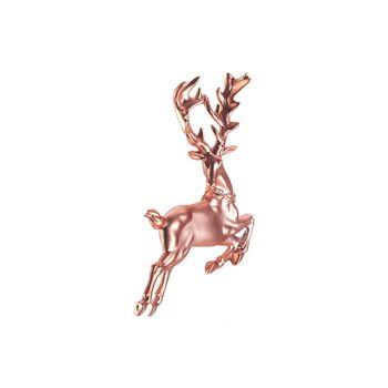Cosy @ Home Hanger Deer Roze 12x2xh12cm Kunststof
