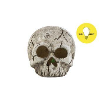 Cosy @ Home Doodskop Led Excl2xaabatt Hat Skull Grij