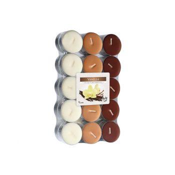 Cosy & Trendy Ct S30 Theelichten Bruin-vanille 4uren