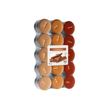 Cosy & Trendy Ct S30 Theelichten Oranje-kaneel 4uren