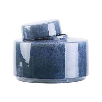 Cosy @ Home Doos Met Deksel Reactive-gravels Blauw 1