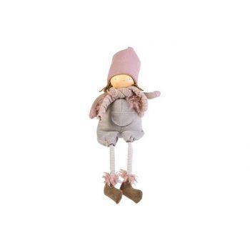 Cosy @ Home Kind Ella Long Legs Roze 18x17xh46cm