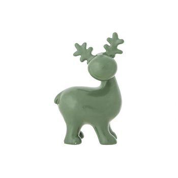 Cosy @ Home Rendier Rudolph Groen 10x7xh15,7cm Ander