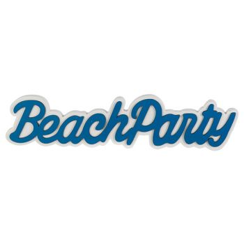 Cosy @ Home Beachparty Blauw 41x2xh9cm Hout