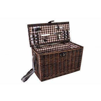Cosy & Trendy Picknickmand 4p-bestek-borden-glazen-p-z