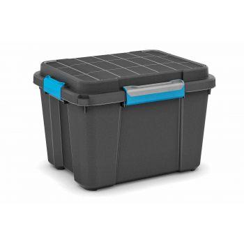 Kis Scuba Box M Zwart 45l 39x49.5x34cm