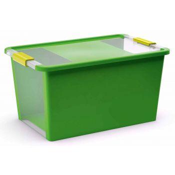 Kis Bi-box Opbergbox L Groen 40l 58x35,2xh44