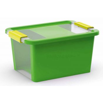 Kis Bi-box Opbergbox S Groen 11l 36,5x26xh19