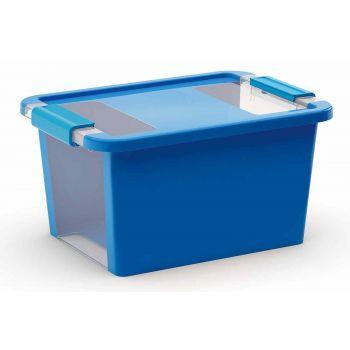 Kis Bi-box Opbergbox S Blauw 11l 36,5x26xh19