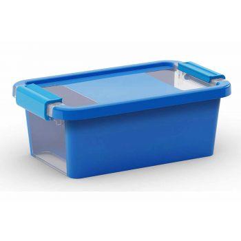 Kis Bi-box Opbergbox Xs Blauw 3l 26,5x16xh