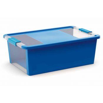 Kis Bi-box Opbergbox M Blauw 26l 55x35xh19cm