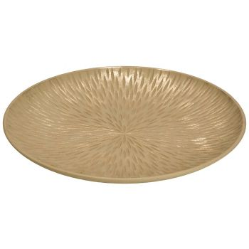 Cosy @ Home Schaal Champagne D30xh2cm Hout