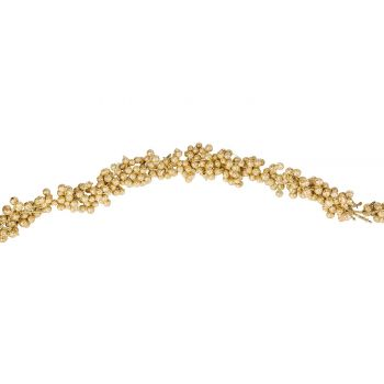 Cosy @ Home Bessenslinger Glitter Goud 3x3xh180cm Ku