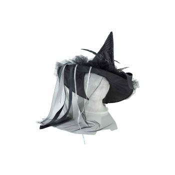 Cosy @ Home Heksenhoed Zwart 45x45xh85cm Textiel