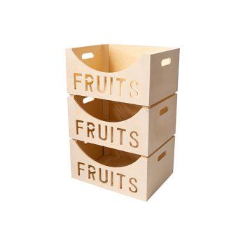 Cosy & Trendy Fruitbox 39,5x30xh19,5cm