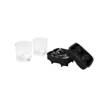 Cosy & Trendy Whiskyglas Met Ijsbolvorm S3 D8,2xh8,6cm