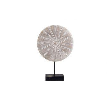 Cosy @ Home Ornament Op Voet Natuur 20x5xh30cm Hout