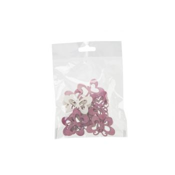 Cosy @ Home Strooideco Set12 Butterflies Mix Roze 4x