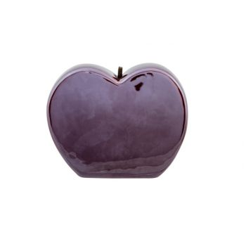 Cosy @ Home Appel Verano Donkerrood 11x5xh11cm Rond