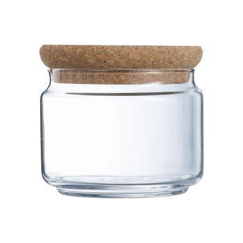 Luminarc Pure Jar Voorraadpot Kurk Deksel O,50 L