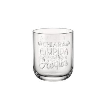 Bormioli Graphica Waterglas 39,5cl D8,2xh10cm