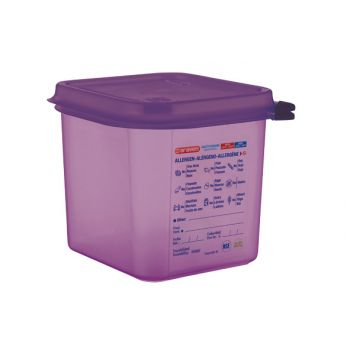 Araven Airtight Food Cont Gn1-6 Purper 2,6l 17.