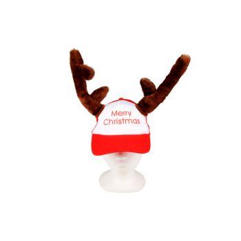 Cosy @ Home Pet Rendiertakken Merry Christmas Rood