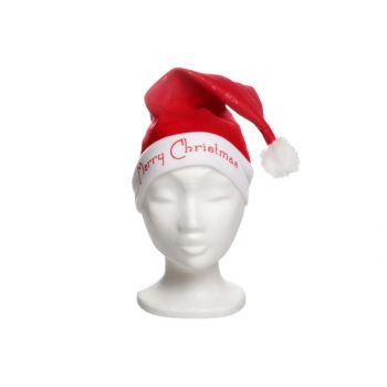 Goodmark Kerstmuts Vilt Print Merry Christmas