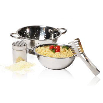 Cosy & Trendy Pasta Set 4dlg Vergiet-mengkom-spaghetti