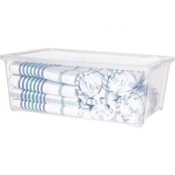 Cosy & Trendy Box Transparant 10l 38x27x14cm
