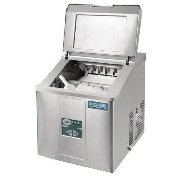 Polar C-serie tafelmodel ijsblokjesmachine 17kg output