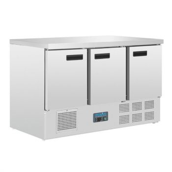 Polar G-serie 3-deurs koelwerkbank 368L