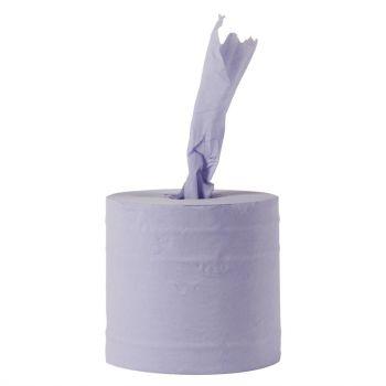 Jantex centrefeed handdoekrollen blauw