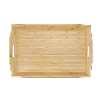 Olympia bamboo dienblad 7.6x58.4x38cm