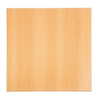 Bolero vierkant tafelblad beuken 70cm