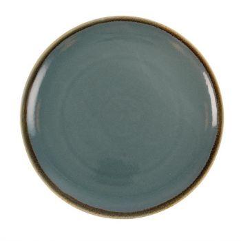 Olympia Kiln ronde coupeborden blauw 28cm